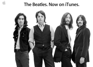The Beatles on Apple's iTunes