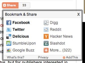 ReadWriteWeb's social sharing