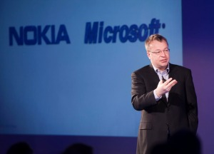 Nokia chief executive and president Stephen Elop