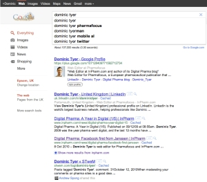 Google Plus SEO Dominic Tyer