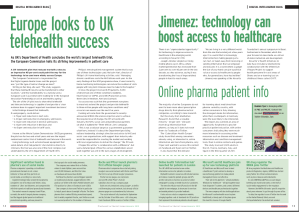 PME (Pharmaceutical Market Europe) January 2012
