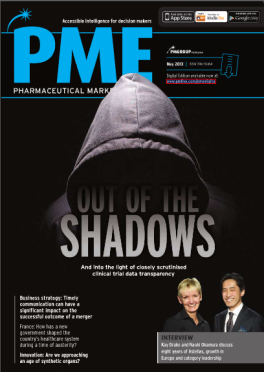 Pharmaceutical Market Europe PME May 2013