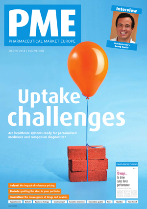 PME Pharmaceutical Market Europe March 2014