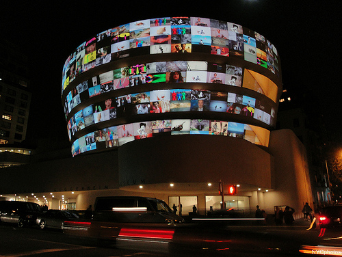 YouTube Play at The Guggenheim (Flickr: @NYCphotos-flickr)