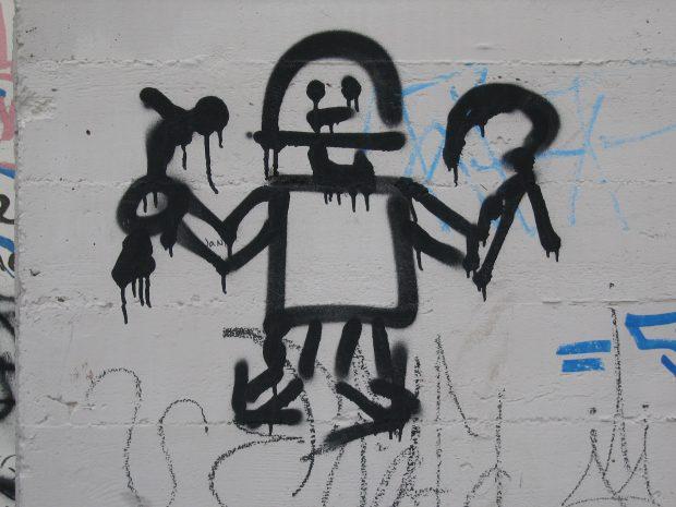 Robot Graffiti Peter Merholz