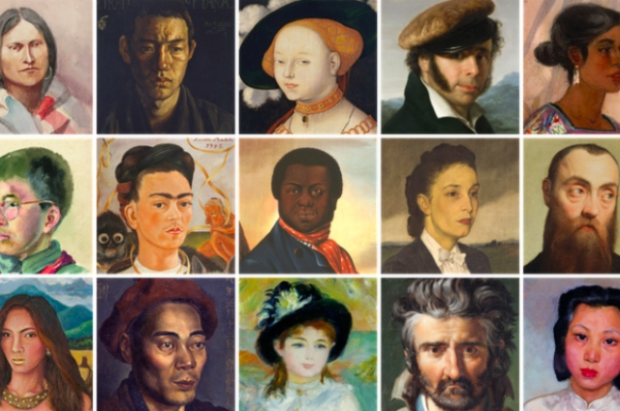 Google Arts Culture Selfie matching app web